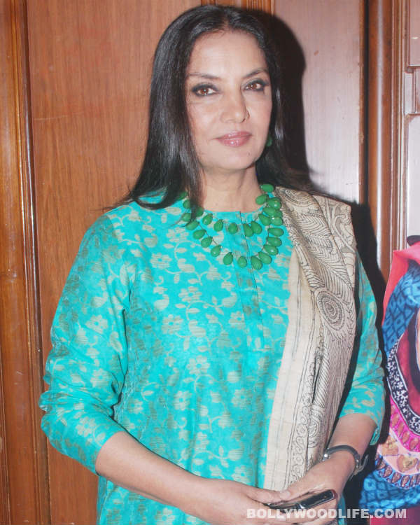 Shabana Azmi launches website to honour father