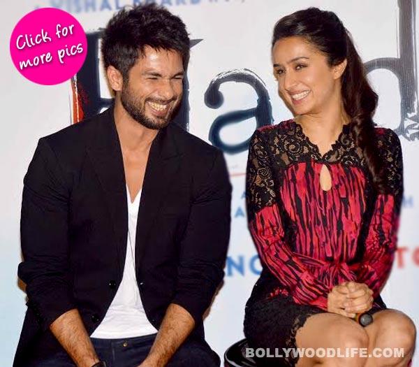 Shraddha Kapoor, Shahid Kapoor, Vishal Bhardwaj at Haider's trailer launch- View pics!