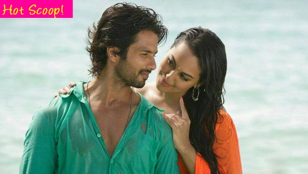 Why is Shahid Kapoor non committal about Sonakshi Sinha?