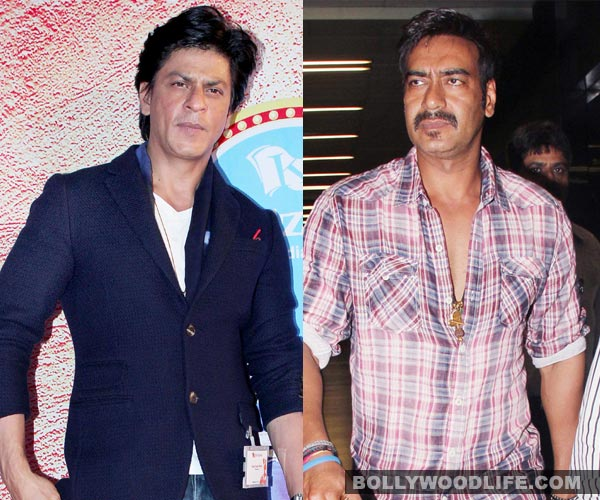 Ajay Devgn upset as Shah Rukh Khan takes over Singham Returns trailer launch!