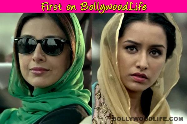 Shraddha Kapoor and Tabu sing for Haider!
