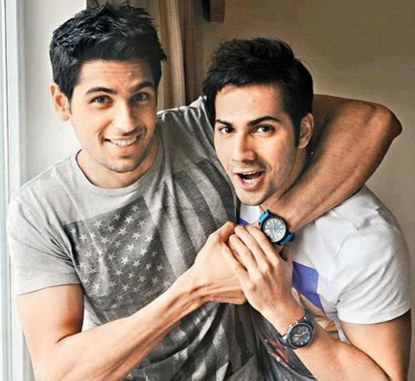 Does Varun Dhawan not like being compared to good friend Sidharth Malhotra?