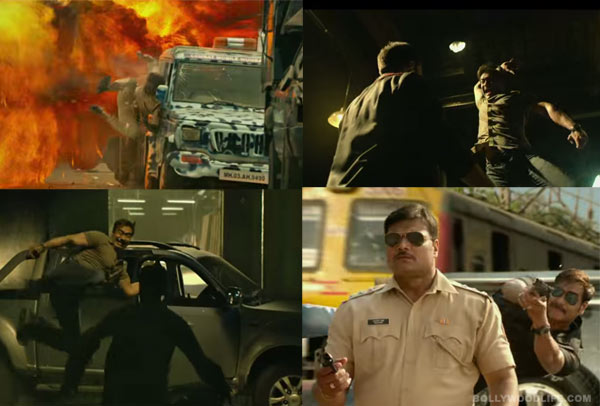 Ajay Devgn's surreal action in Singham Returns!