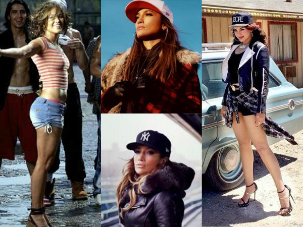 Is Sonakshi Sinha trying to copy Jennifer Lopez's style in Yo Yo Honey Singh's Superstar video?