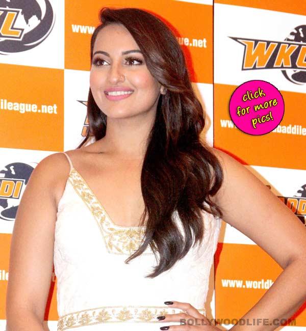 After Akshay Kumar and Yo Yo Honey Singh, Sonakshi Sinha joins World Kabaddi League!