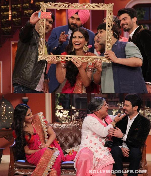 Comedy Nights with Kapil: Sonam Kapoor and Fawad Khan promote Khoobsurat on Kapil Sharma's show!