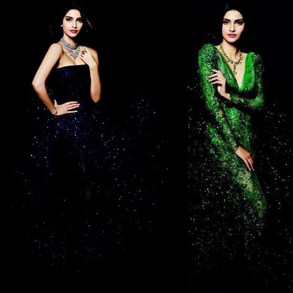 Sonam Kapoor looks iridescent in Elie Saab for IIJW 2014 campaign