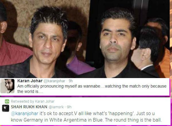Why did Shah Rukh Khan take a dig at Karan Johar?