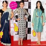 Gauahar Khan steals the show at Lakme Fashion Week announcement – View pics!