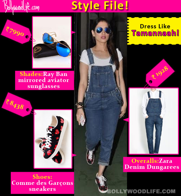 Style file: Get Tamannaah's casual chic look!