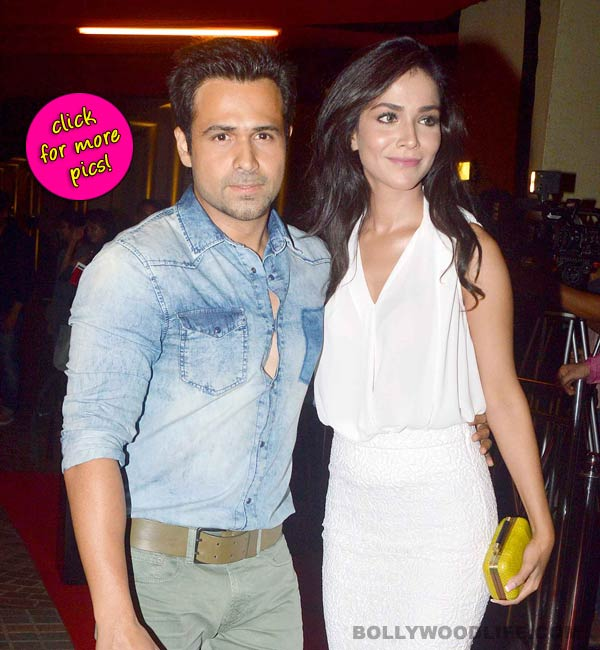 Emraan Hashmi and Humaima Malik attend Raja Natwarlal's wrap up party-view pics!