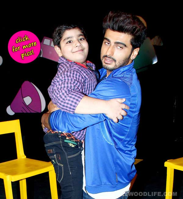 Arjun Kapoor spotted at TV show Captain Tao-view pics!