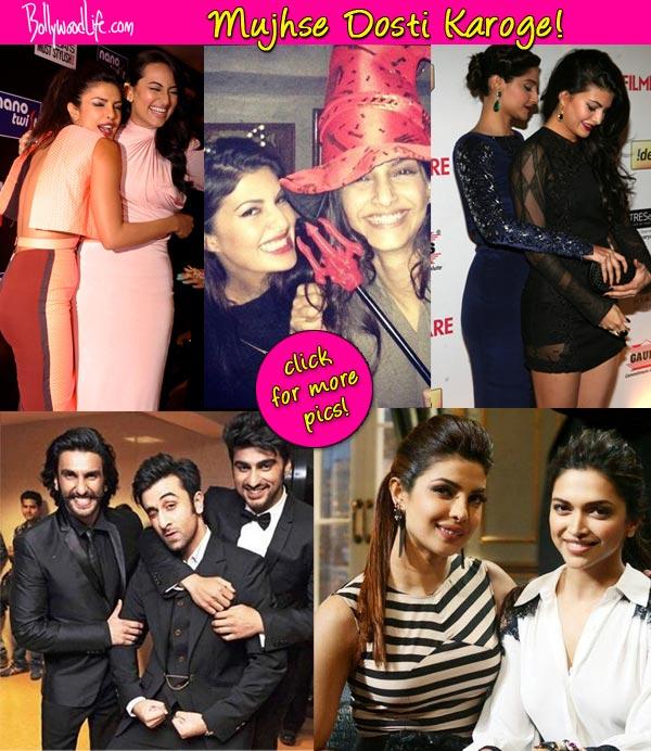 Sonam Kapoor, Priyanka Chopra, Sonakshi Sinha, Arjun Kapoor, Ranveer Singh say Mujhse Dosti Karoge…
