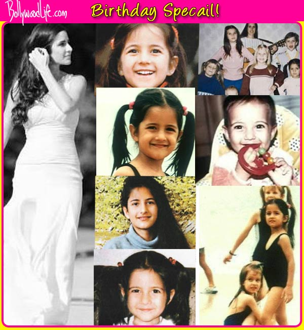 Katrina Kaif's unseen photos from childhood – view pics!