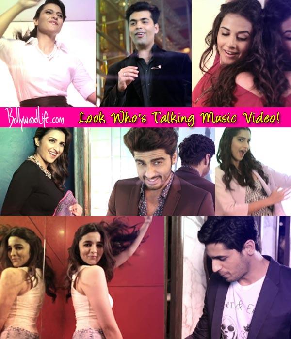 Look Who's Talking music video: Kajol, Alia Bhatt and Karan Johar dance like nobody is watching!