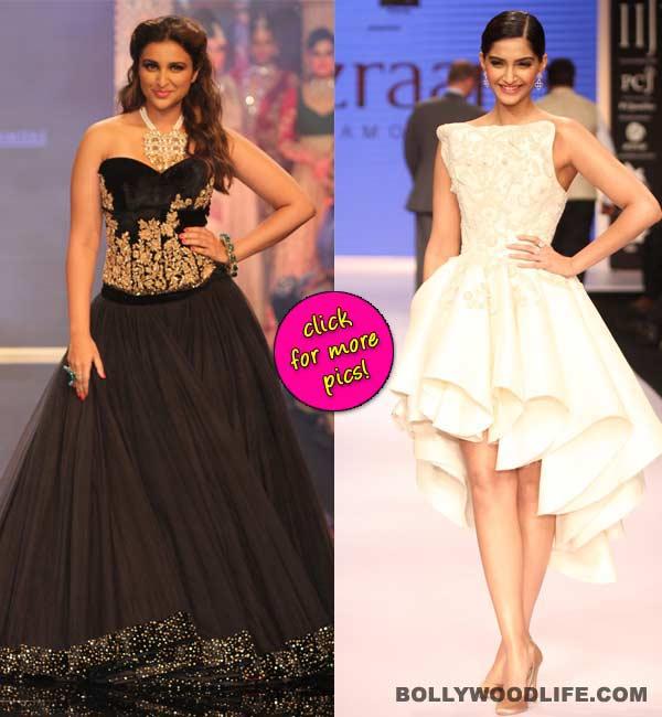 IIJW 2014: Sonam Kapoor and Parineeti Chopra are the stellar show-stealers!
