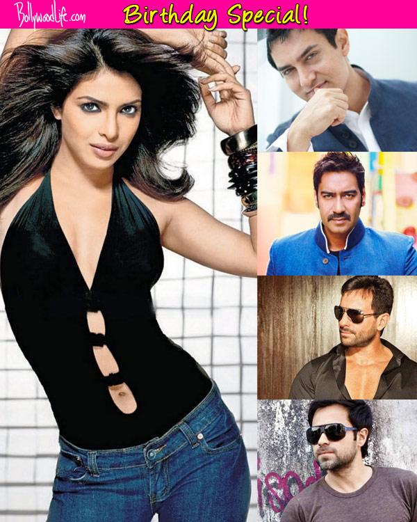 Who will Priyanka Chopra look best with - Aamir Khan, Ajay Devgn, Emraan Hashmi or Saif Ali Khan? Vote!