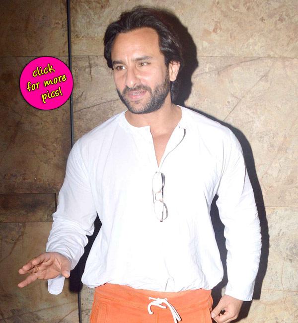 Saif Ali Khan attends Armaan Jain's Lekar Hum Deewana Dil screening- View pics!