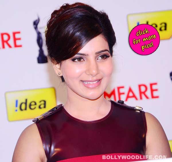 Samantha at 61st Idea FilmFare Awards South- view pics!