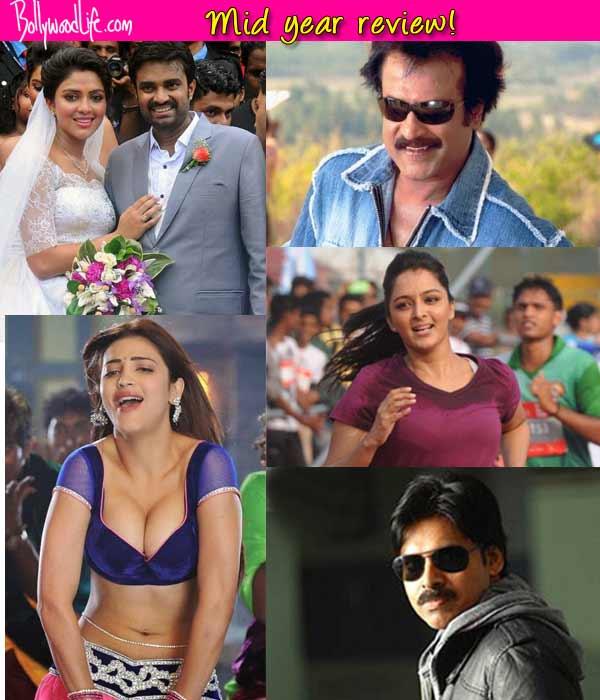 Rajinikanth, Pawan Kalyan, Amala Paul, Shruti Haasan - a look at the most popular celebs