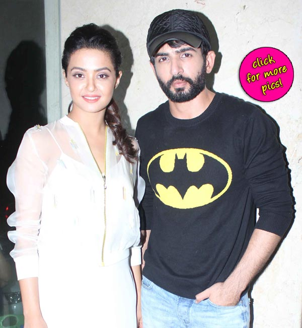 Jay Bhanushali and Surveen Chawla promote Hate Story 2-view pics!
