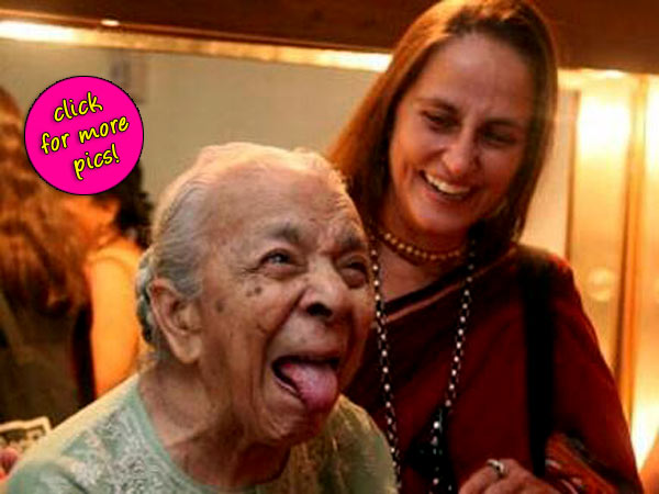 Zohra Sehgal passes away: 12 unseen pictures of the undying legend!