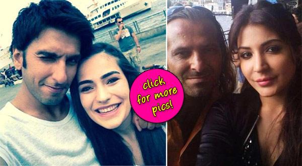 Ranveer Singh and Anushka Sharma's fan selfies you might have missed this week - view pics!