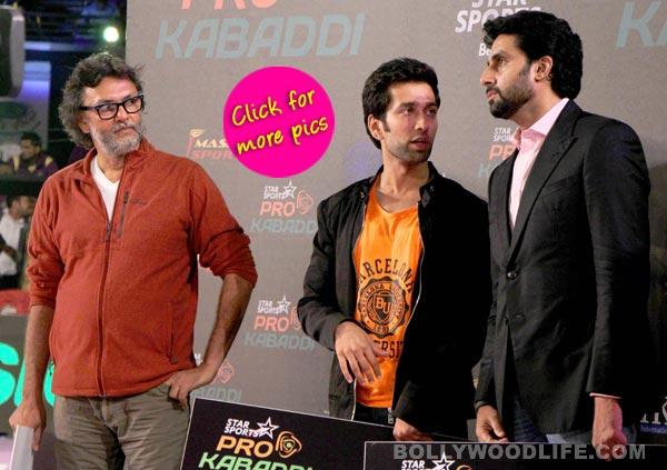 Abhishek Bachchan at Pro Kabbadi League match- View pics!