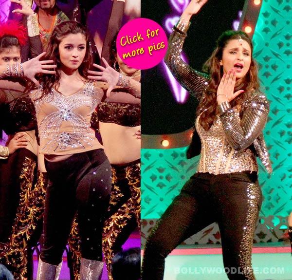 International Indian Achiever's Award 2014: Alia Bhatt and Parineeti Chopra dazzle on stage-view pics!