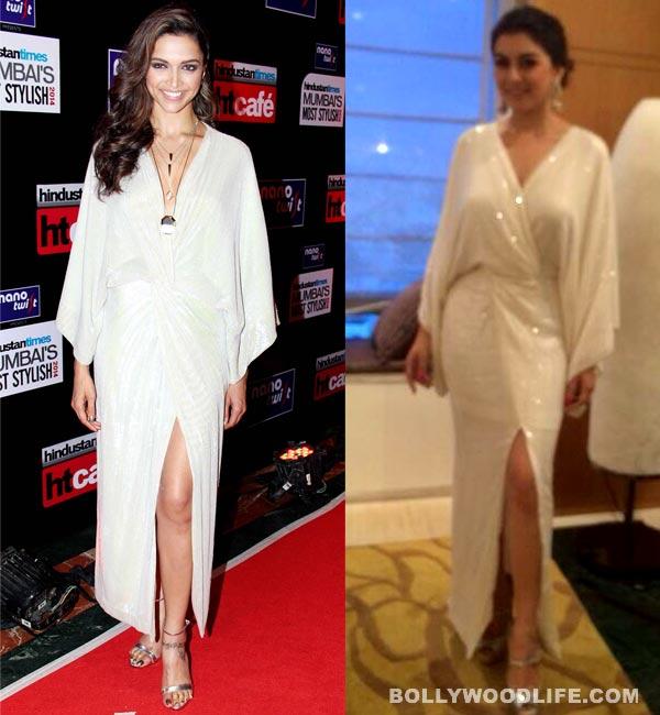 Deepika Padukone or Hansika Motwani: Who wore the DvF maxi better? Vote!