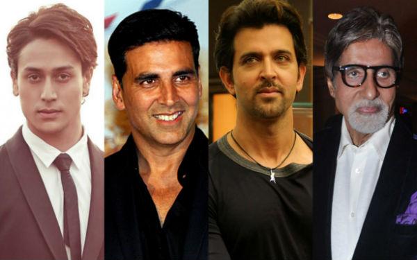 Tiger Shroff beats Akshay Kumar, Hrithik Roshan and Amitabh Bachchan to be at No 3 spot on Times Celebex!
