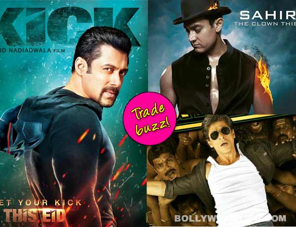 Will Salman Khan's Kick beat Aamir Khan and Shah Rukh Khan's box office record? Trade buzz!