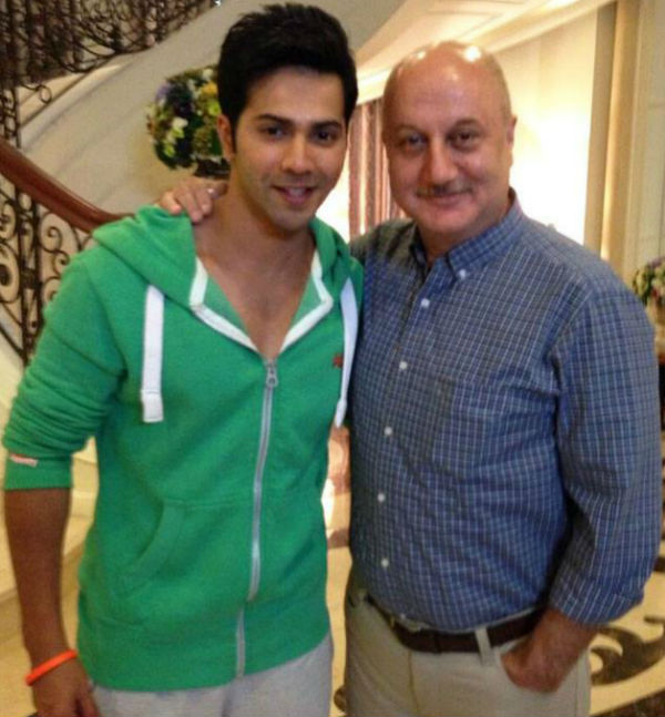Varun Dhawan soon to feature on The Anupam Kher show