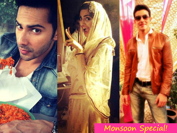 Varun Dhawan, Sonam Kapoor, Gautum Rode welcome the monsoons