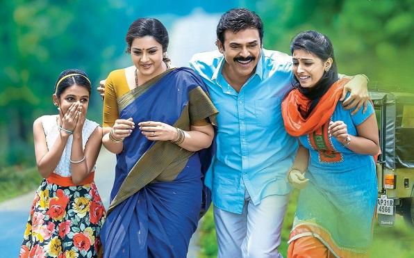 Venkatesh's Drushyam rakes in Rs 5.23 crore in opening weekend