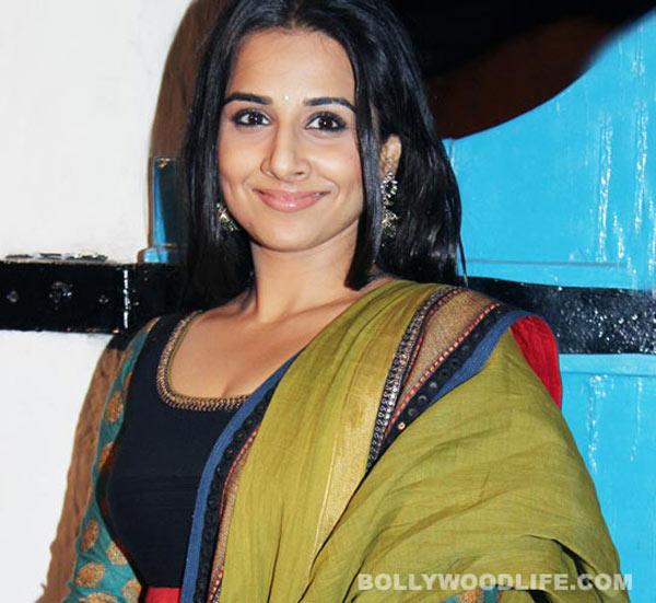 Vidya Balan: I am very selfish as an actor