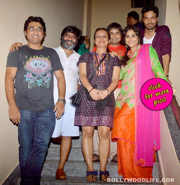 Vidya Balan attends screening of Bobby Jasoos