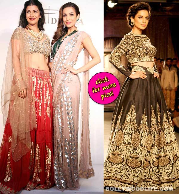 Indian Couture Week: Kangana Ranaut, Malaika Arora Khan and Nimrat Kaur turn into breath-taking showstoppers!