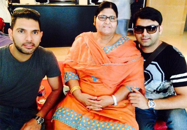 Kapil Sharma attended Yuvraj Singh's charity event despite hectic schedule