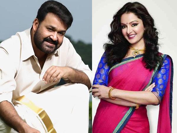 Mohanlal and Manju Warrier sign a film together!