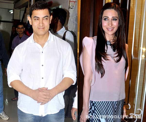 When Aamir Khan bonded with Karisma Kapoor over dinner...