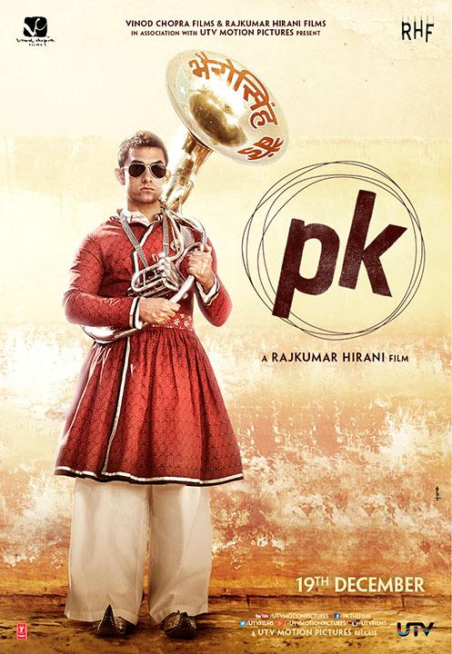 PK new poster: Aamir Khan- from semi-nude to fully-clad!
