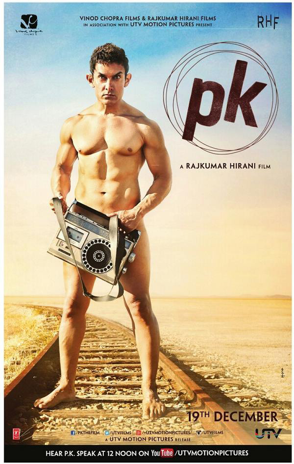 Aamir Khan's PK poster impresses Bollywood!