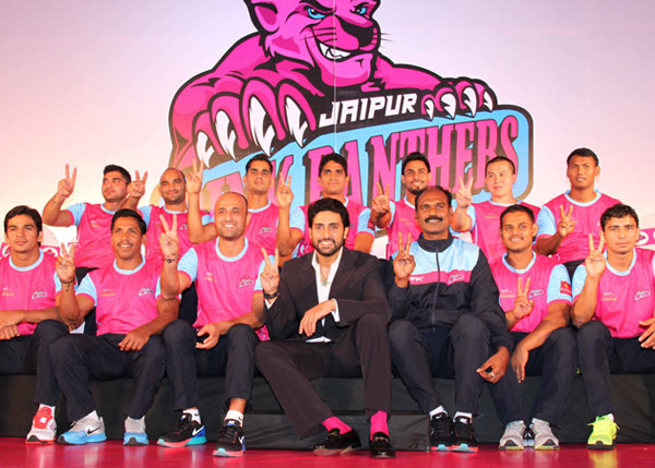 Pro Kabaddi League final: Abhishek Bachchan's Jaipur Pink Panthers beats U Mumba to win the tournament!