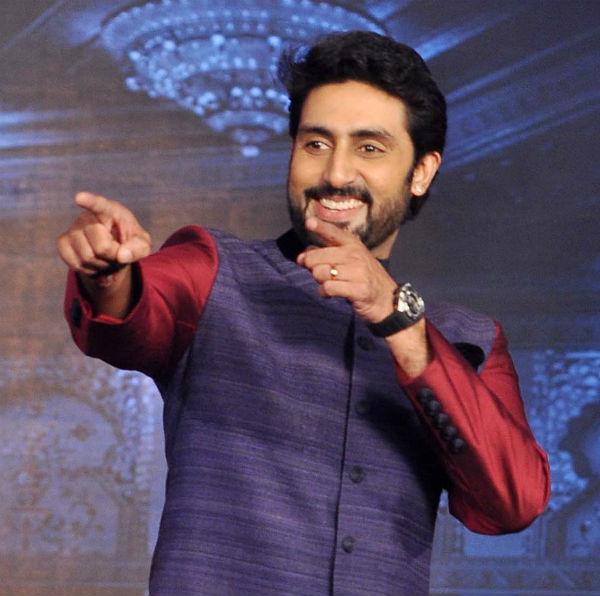 Abhishek Bachchan goes shirtless for Happy New Year?