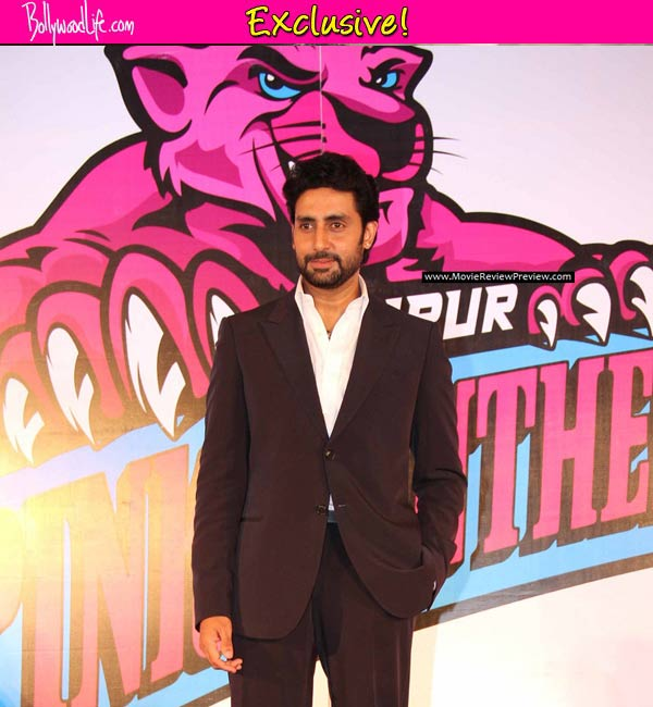 Revealed: Abhishek Bachchan's plans to celebrate Jaipur Pink Panther's victory in Pro Kababdi League final