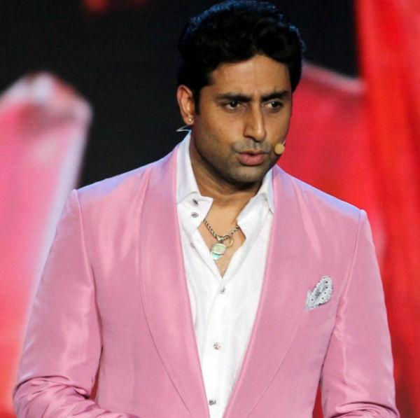 Abhishek Bachchan shows off his metrosexual side!