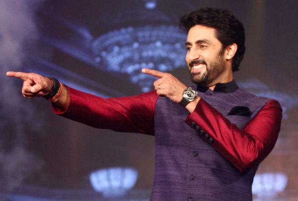 Abhishek Bachchan reveals his generous side