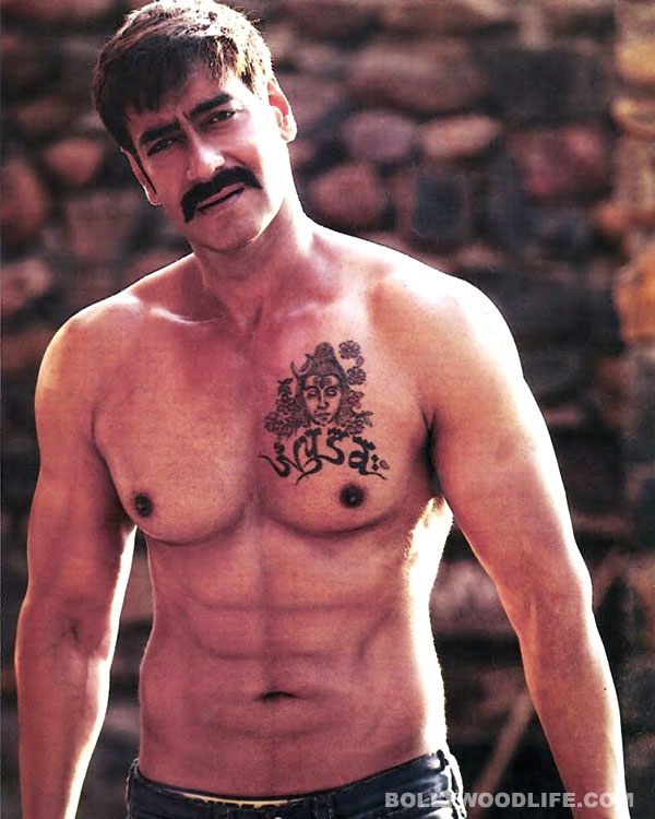 Ajay Devgn gives work-out a miss for Singham Returns