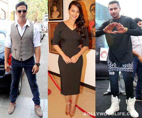 Akshay Kumar, Sonakshi Sinha and Yo Yo Honey Singh to attend the premiere of Entertainment in London!